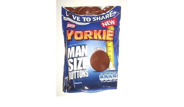 Amazoncom Yorkie Man Sized Buttons Grocery Gourmet Food