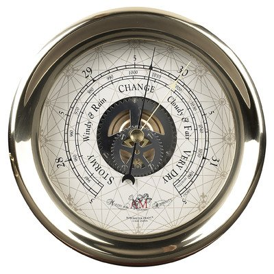 Captain's Large Barometer