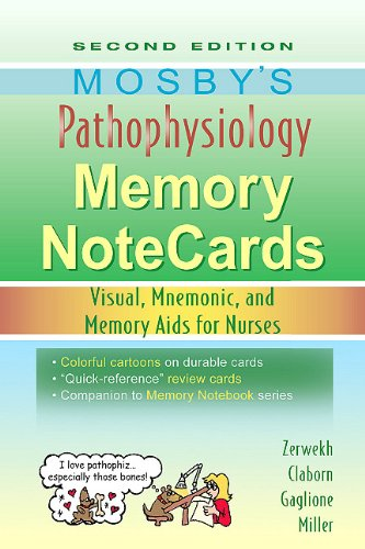 Pdf Health Mosby's Pathophysiology Memory NoteCards: Visual, Mnemonic, and Memory Aids for Nurses