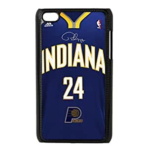 New Design NBA Indiana Pacers Star Paul George NO.24 Ipod Touch 4 Best Hard Cover Case hjbrhga1544