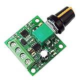 uniquegoods 1.8v 3v 5v 6v 7.2v 12v 2A 30W DC Motor Speed Controller (PWM) 1803BK Adjustable Driver Switch uniquegoods