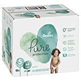 #10: Pampers Pure Protection Disposable Diapers, Size 5, 44 Count