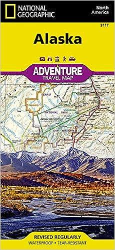 Alaska (National Geographic Adventure Map): National ...
