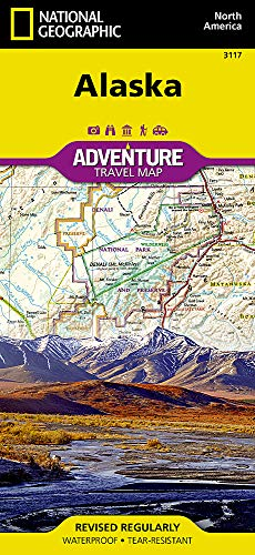 Alaska (National Geographic Adventure Map) ()