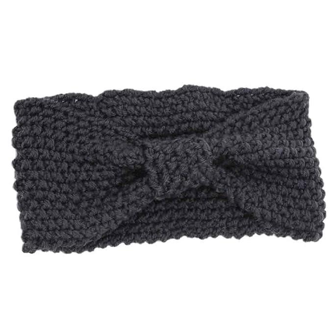 Yvelands Damen Stirnbänder Winter Warme Frauen Häkeln Gestrickte