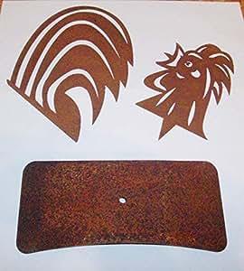 oxidado grifo metal de 2piezas para tronco (tamaño s)
