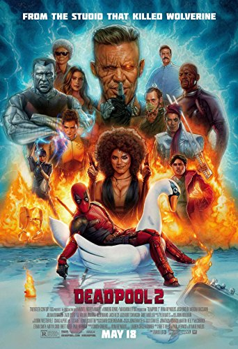 Deadpool 2  Movie Poster 24x36 Holographic Sequential Number