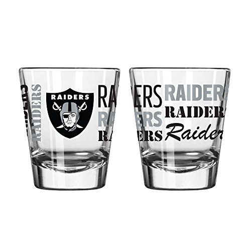 (NFL Raiders 2 OZ Spirit Shot Glass)