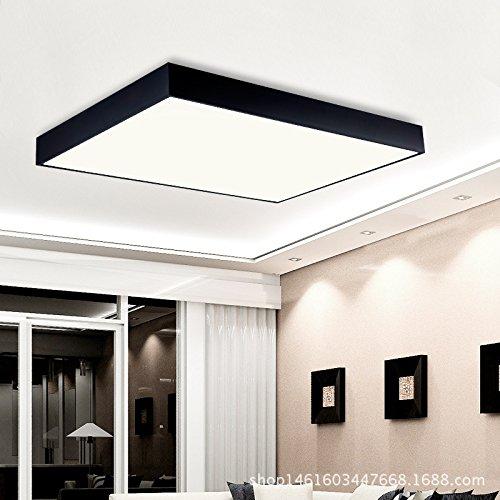JJ Moderne LED Deckenleuchte Modern Und Minimalistisch, Flur, Schlafzimmer, Wohnzimmer  Deckenleuchte Acryl Rechteckige