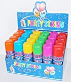 Party String Cans - 96 Cans in Display Box - Silly Crazy Party Streamer Spray