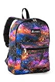 Everest Kids' Basic Pattern Backpack, Galaxy, One Size