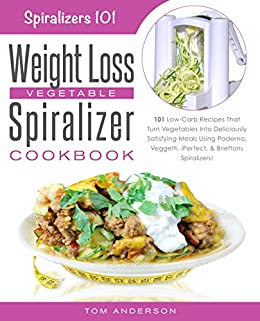 Weight Loss Vegetable Spiralizer Cookbook ebook product image