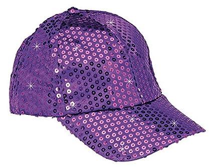 3c6a6a76 The Paragon Baseball Cap for Women - Gold Sequin Hat, Adjustable Strap Ball  Cap,