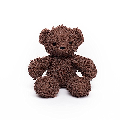 Brown Plush Bear (Bears for Humanity Organic Baby Sherpa Bear Plush Animal Toy, Dark Brown, 10