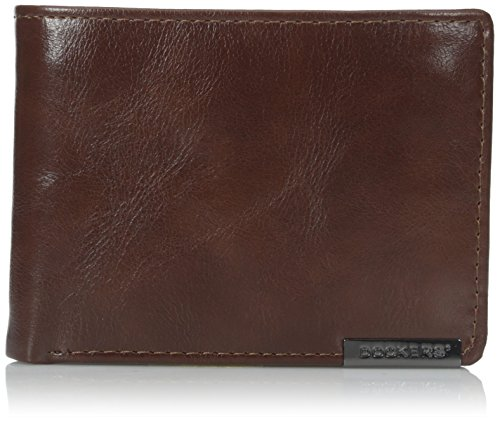 dockers-mens-glazed-rustler-traveler-wallet-tan-one-size
