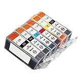 Best b.m.c Inkjet Printers - HOTCOLOR PGI-220 CLI-221 for Canon PGI-220BK Black Review