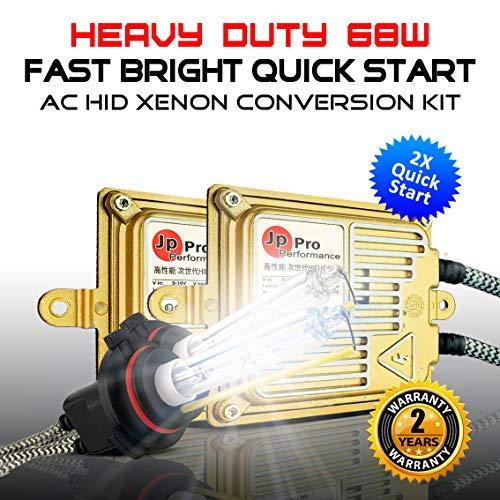 - Heavy Duty 68W Quick Start Fast Bright H8 H9 H11 AC HID Xenon Conversion Kit Headlight Fog-light (4300K OEM Yellow)