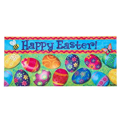 Evergreen Flag & Garden Sassafras Happy Easter Decorative In