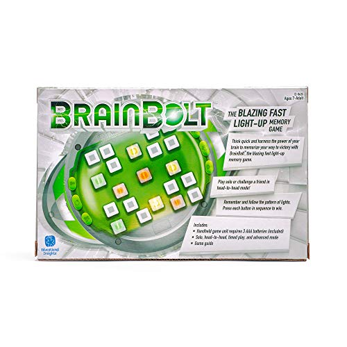 51OYOLc%2BmNL - Educational Insights Brainbolt Toy, Multicolor