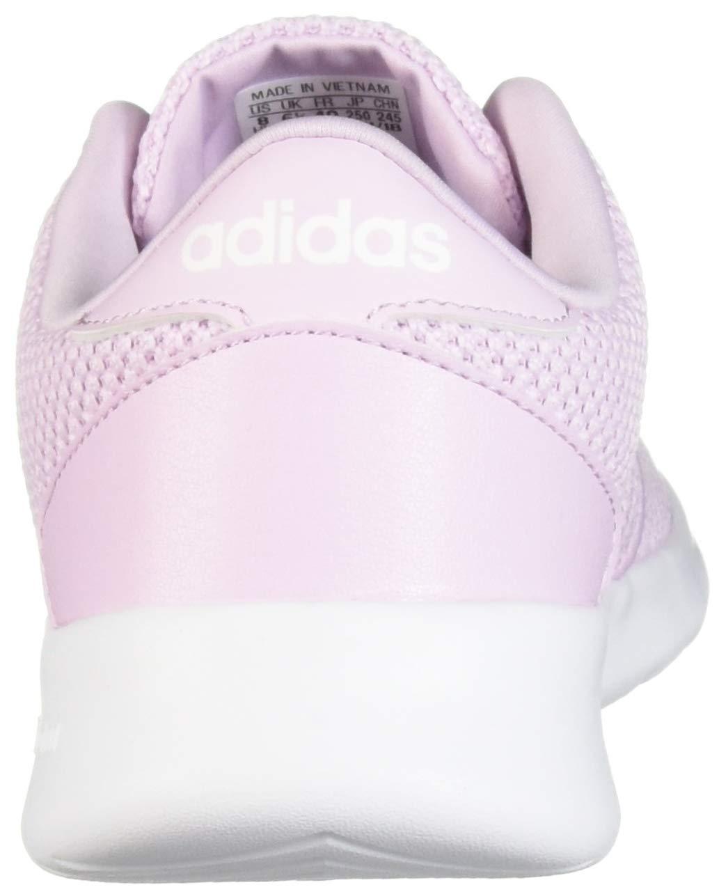 adidas Women's Cloudfoam QT Racer, White/aero Pink, 5.5 M US by adidas (Image #2)