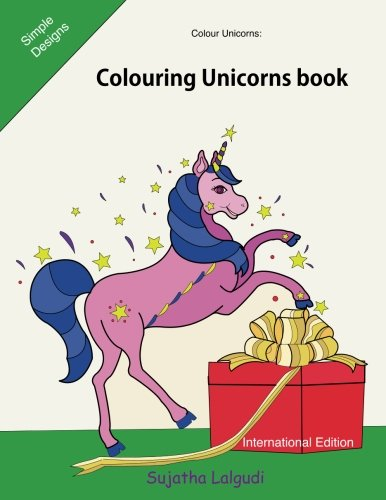 Read Online Colour Unicorns: Colouring Unicorns book: 26 Christmas Unicorn for stress relief, Keep Calm and colour Unicorns, Unicorn colouring book for Children, ... colouring books for Adults) (Volume 17) PDF