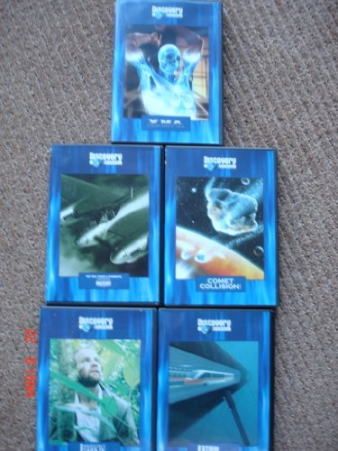 Discovery Channel: Extreme DVD Collection: Extreme Enginnering / Comet Collision / I Shouldn't Be Alive / XMA (Martial Arts) / Top Ten Tanks and Bombers