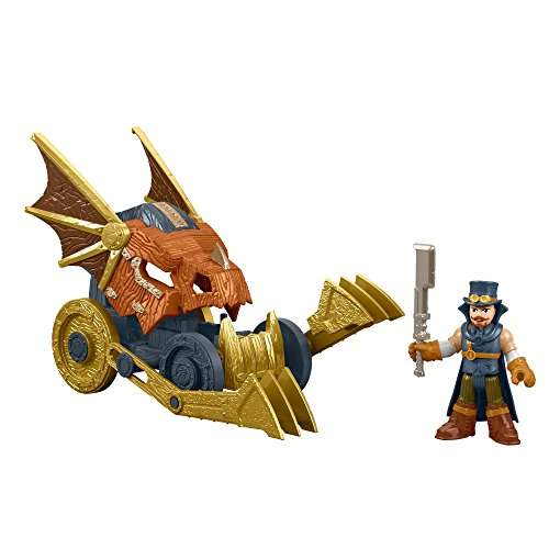 Fisher-Price Imaginext Monster Hunter With Vehicle