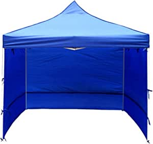 Outdoor Sun Protection Folding Tent Shed Rain Cloth Shelter Cover (Without Bracket) (Blue, 3 m)