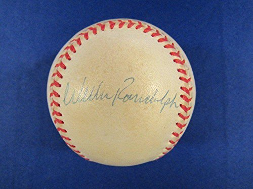 Willie Randolph Autographed Baseball - Rawlings OAL B91 - Autographed Baseballs (Baseball Willie Randolph Autographed)