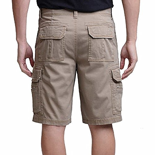 UNIONBAY Men's Wyatt Stretch Cargo Short (Tan, 32)