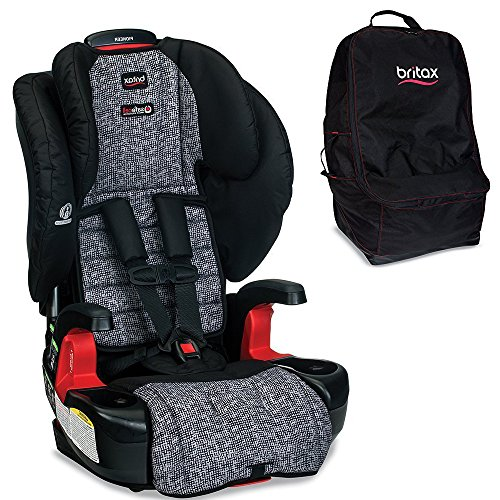 Britax Pioneer G1.1 Harness-2-Booster Car Seat, Static with Travel Bag Bundle