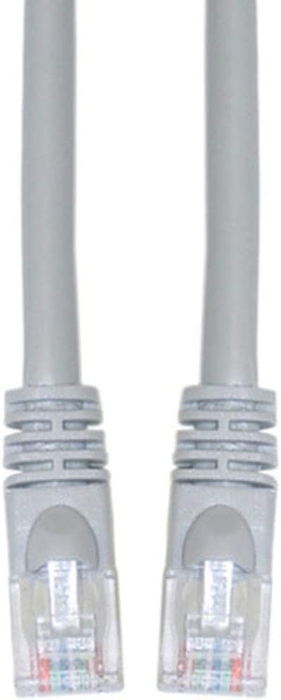 RJ45 10Gbps High Speed LAN Internet Cord 3 Feet - Gray GOWOS Cat5e Crossover Ethernet Cable UTP Available in 28 Lengths and 10 Colors Computer Network Cable with Snagless Connector