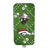NFL Denver Broncos Magnetic Clink N Drink Bottle Opener, Small, Multicolored