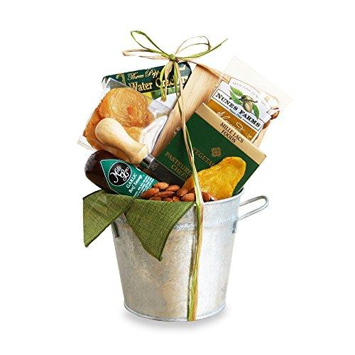 California Delicious Snack Tin Gift Basket, 4 Pound