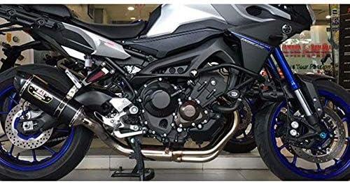 JFG RACING Kit d/échappement pour Moto Yamaha MT-09 Tracer XSR 900 2015-2019
