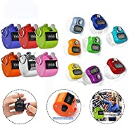 CUGBO Hand Tally Counter Count Clicker Assorted Color Hand Held Counter Clicker for Sport/Coach/Casino/Event/S