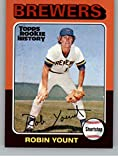 2018 Topps Archives Rookie History Robin Yount Milwaukee Brewers MLB Baseball Trading Card