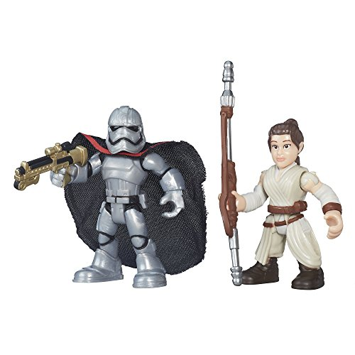 Playskool Galactic Star Wars Resistance Rey (Jakku) & Captain Phasma