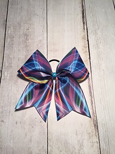 Cheer Bow, Galaxy Cheer Bow, Hair Bow - Image 1