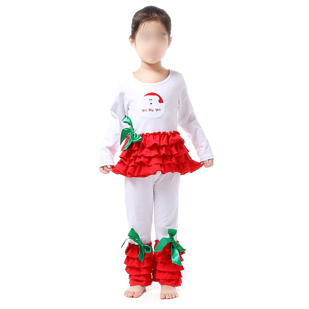 130 Boutique Clothing Christmas Holiday Girls Santa Outfit