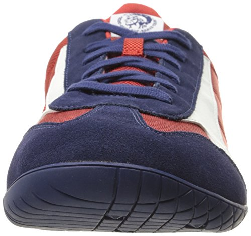 Diesel Men's Claw Action S-Actwings Fashion Sneaker Blue Nights/Tango Red/White cheap sale collections footlocker finishline cheap online newest for sale visit cheap price free shipping for nice P2cTaWqjE