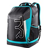 TYR Apex Transition Bag, Black/Blue, Medium