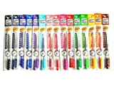 Hi-Tec C Coleto Gel Ink Pen Cartridge 0.4mm 15-Set One of Each Color Ships from California by Pilot