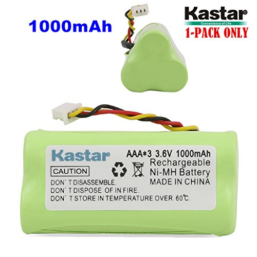 - Kastar 1-Pack AAA 3.6V 1000mAh Ni-MH Rechargeable Battery Replacement for Zebra/Motorola Symbol 82-67705-01 Symbol LS-4278 LS4278-M BTRY-LS42RAAOE-01 DS-6878 Cordless Bluetooth Laser Barcode Scanner