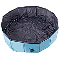 AYITOO Pool för sällskapsdjur, hundpool, bad, miljövänlig husdjurspool, bad för husdjur, pool, 120 cm x 30 cm