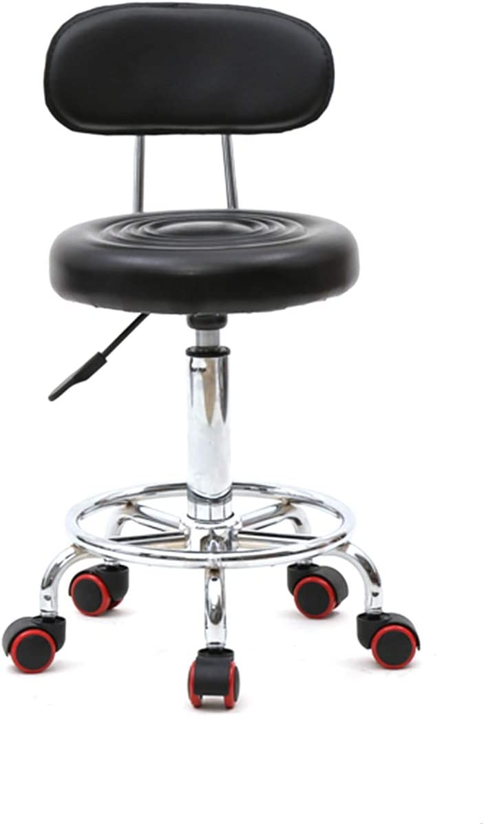 Round Shape Adjustable Salon Stool
