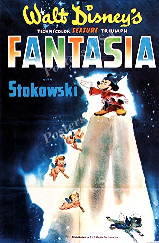 Poster USA - Disney Classics Fantasia Technicolor Poster GLOSSY FINISH - TECN010