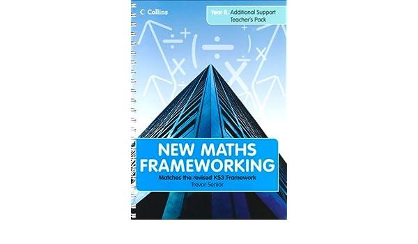 Year 8 Additional Teacher's Support Pack (New Maths Frameworking ...