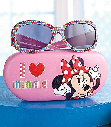 Kids Favorite Character Sunglasses & Case(Minnie - Mouse Minnie Sunglasses