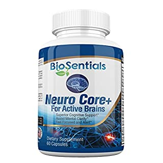 NeuroCore+   The Extra Strength Nootropic Brain Booster Supplement | Fast  Acting, All